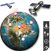 GPS Live Map Navigation - Earth Satellite View