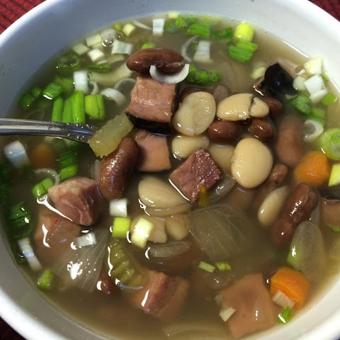 Ham and Bean Soup for Dinner Tonight