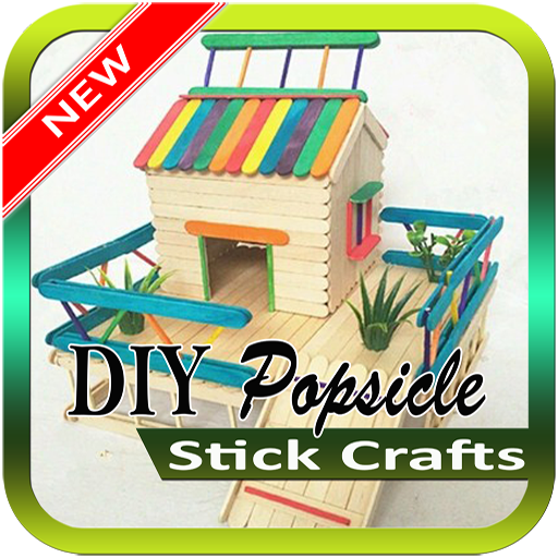 DIY Popsicle Stick Crafts (app)