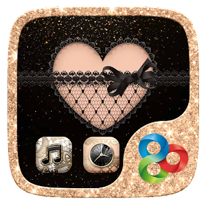 SEXY LACE GO Launcher Theme