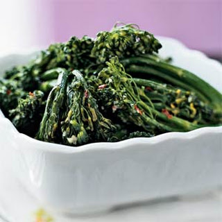 Broccolini With Ginger And Garlic Recipes
