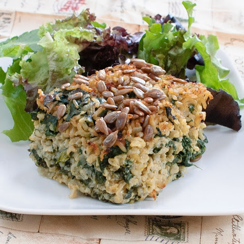 Spinach-Rice Casserole