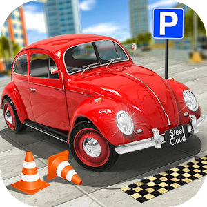 Classic Car Parking Real Driving Test for pc