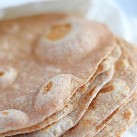 Authentic Mexican Flour Tortillas (White & Whole Wheat Versions)