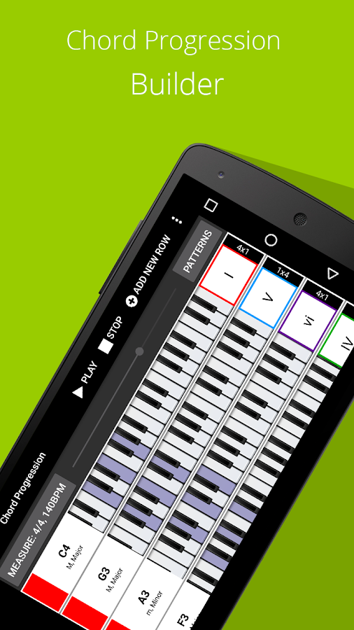Piano Chords Companion PRO Screenshot 2