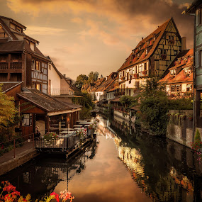 Colmar, France - Little Venice by Nick Moulds - City,  Street & Park  Historic Districts ( old town, alsace, little venice, france, colmar )