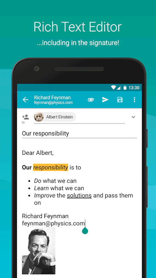 MobiSystems AquaMail - Email App Screenshot 2