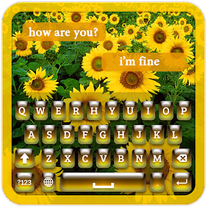Download Sunflower Keyboard Theme for Windows Phone