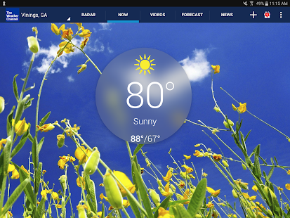App The Weather Channel APK for Kindle