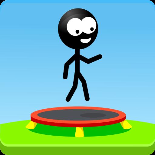 Trampoline Man (Stickman Game) (game)