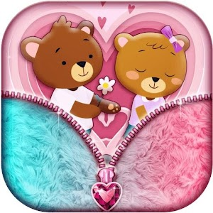 Download free Valentine Lock Screen Zipper Theme for PC on Windows and Mac