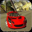 Racing Hilly Viber Car 3D