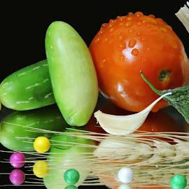green n white by SANGEETA MENA  - Food & Drink Ingredients