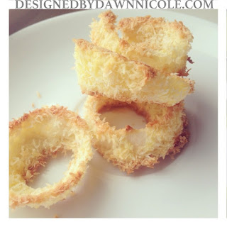 Coconut Crusted Onion Rings