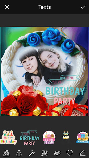 Pic on Birthday Cake with Name and Photo Maker screenshot 5