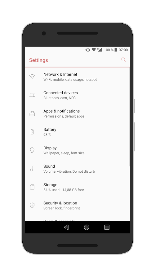 [Substratum] Outline Theme Screenshot 0