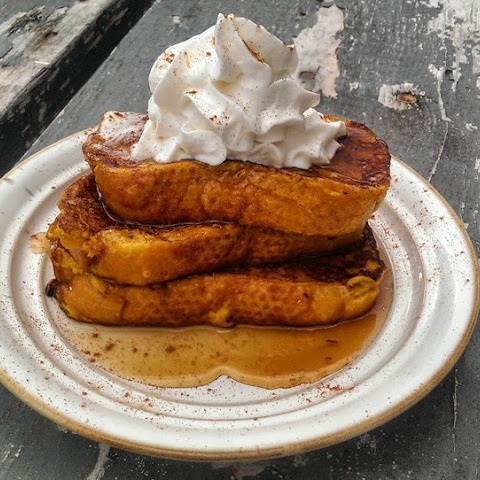 Dreamy Pumpkin French Toast!