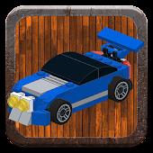 Game Tiny racers in Bricks version 2015 APK