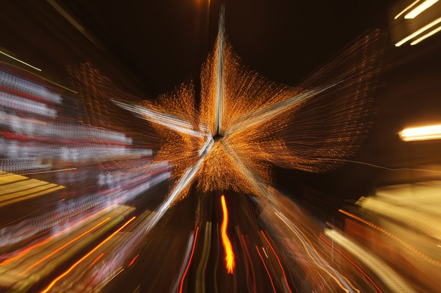 by Emma Robertson - Abstract Light Painting