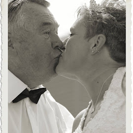 My dad's wedding day 2015 by Shelley Deeds - Wedding Bride & Groom