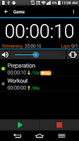 Screenshot of Interval Alert Timer