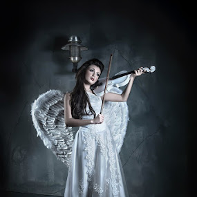 Song of Angel by Aji Patria - People Fashion