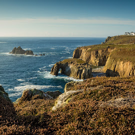 Land's End from distance by Matic Žižek - Landscapes Travel