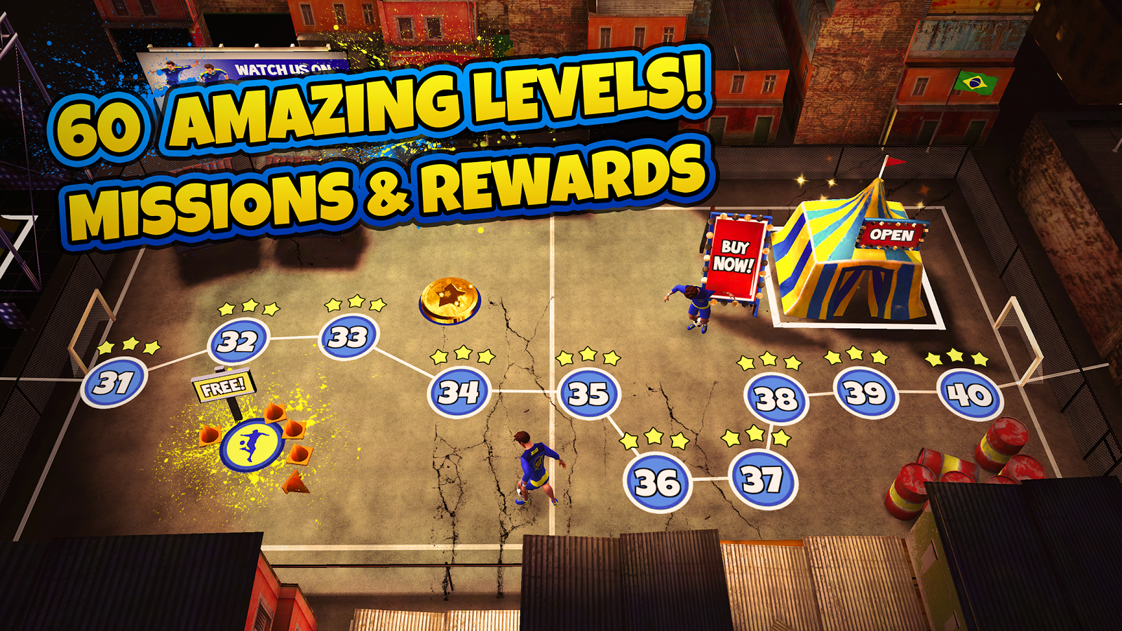 SkillTwins Football Game Screenshot 11