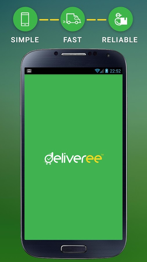 Deliveree - Delivery Services Screenshot