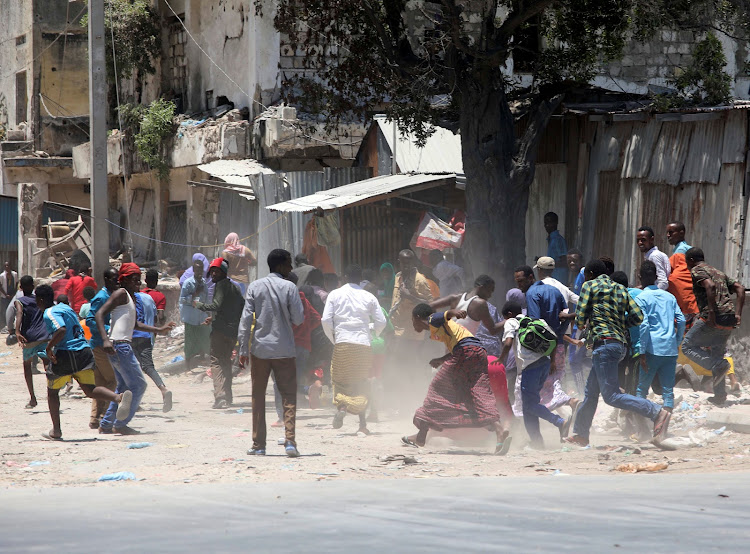The Latest: Somali minister among 5 killed in Somalia attack