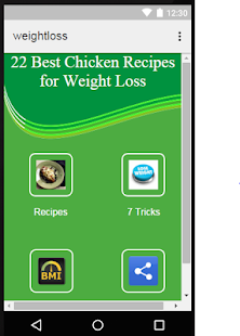 Weight Loss with Chicken - screenshot