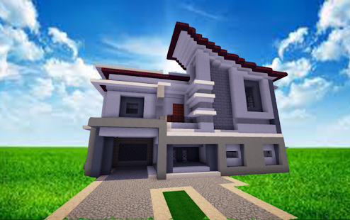 Modernes haus ideen mcpe mods apk download von for Minecraft modernes haus 20x20