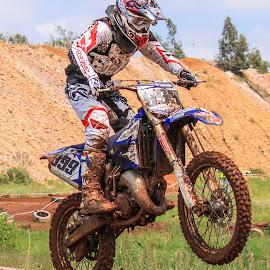 Motocross by Dirk Luus - Sports & Fitness Motorsports ( rider, mud, motocross, motorbike, motorcycle, dirt, motorsport )