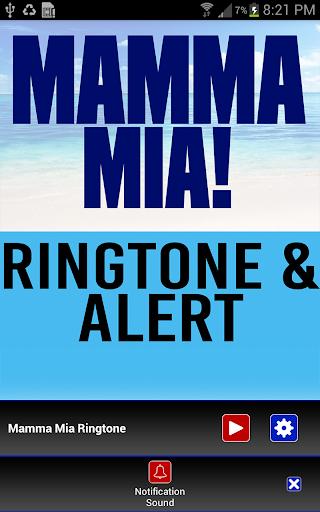 Mamma Mia Ringtone and Alert - screenshot