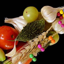 tomatoes by SANGEETA MENA  - Food & Drink Ingredients