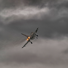 Eurofighter Typhoon  by Tommy  Cochrane - Transportation Airplanes ( uk, eurofighter, defence, afterburner, royal air force, fighter jet, typhoon, raf )