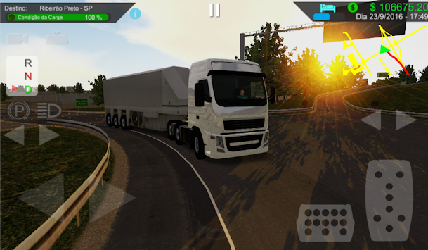Heavy Truck Simulator 1293150 APK screenshot thumbnail 1