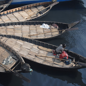 by Safiuddin Ahmed - Transportation Boats