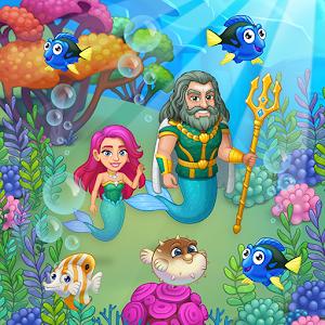 Aquarium Farm: fish town, Mermaid love story shark For PC / Windows 7/8/10 / Mac – Free Download