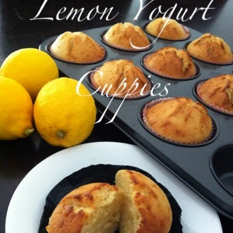 Lemon Yogurt Cupcakes