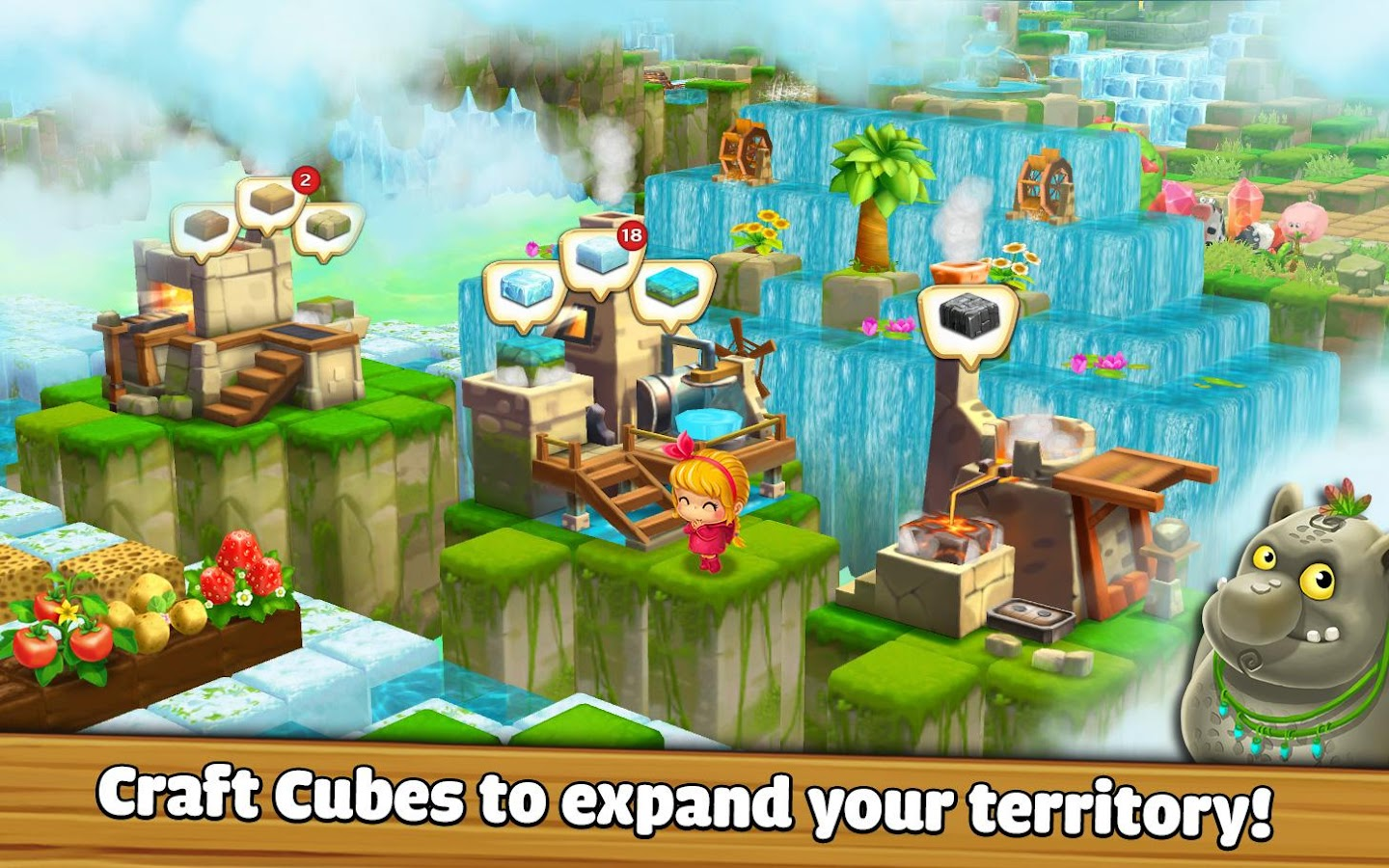 Cube Skyland: Farm Craft Screenshot 4