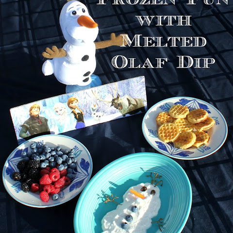 Make Melted Olaf Dip and Build Elsa's Ice Castles