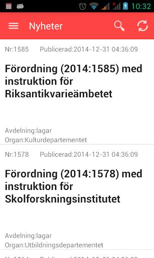 Lagcenter - Lagboken Screenshot