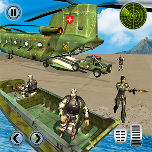 US Army Helicopter Rescue: Ambulance Driving Games For PC (Windows & MAC)