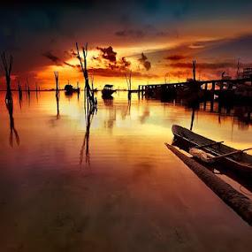 Evening  by Jeffry Surianto - Landscapes Sunsets & Sunrises