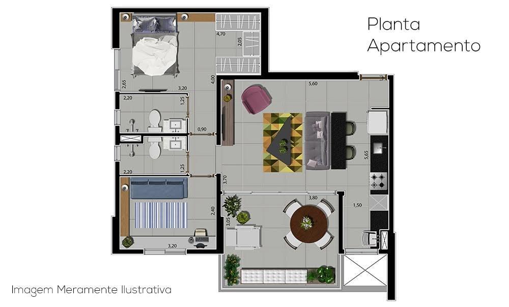 Apartamento à Venda - Panamby