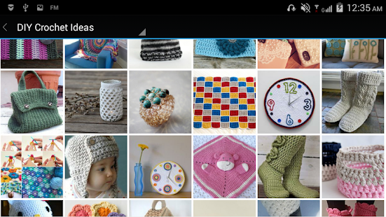 DIY Crochet Ideas & Patterns - screenshot