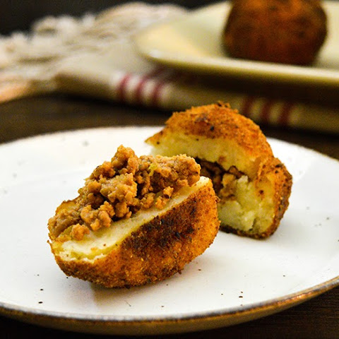 Bold & Savory Stuffed Potato Balls