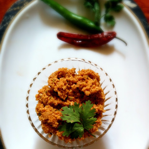 Wet Coconut Chutney for Appam