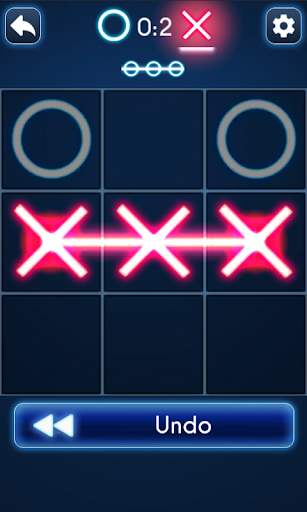 Tic Tac Toe Glow - screenshot